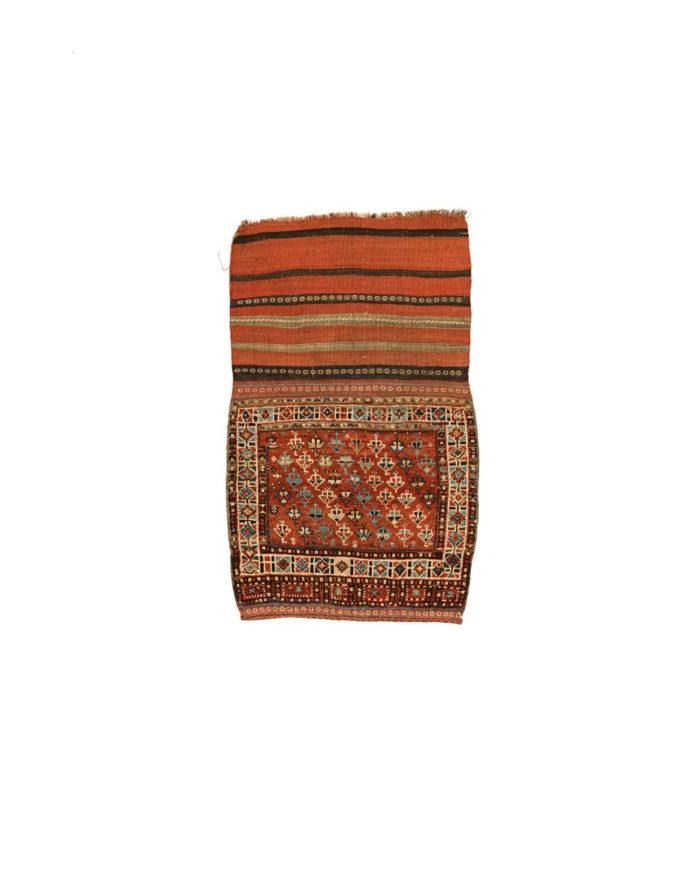 "Antique Persian Khamseh Bag 2'2""×3'7"""