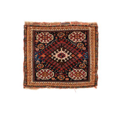 "Antique Persian Khamseh Bag Face 1'10""×2'1"""