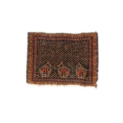 "Antique Persian Khamseh Bag Face 1'6""×2'0"""
