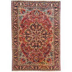 "Antique Persian Khorassan 4'4""×6'2"""