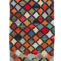 "Antique Persian Kilim 4'6""×8'0"""
