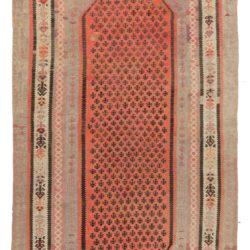 """Antique Persian Kilim 5'2""""×10'4"""""""