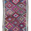 "Antique Persian Kilim Long Rug 5'0""×10'4"""