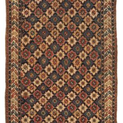"Antique Persian Kuba Rug 6'0""×11'6"""