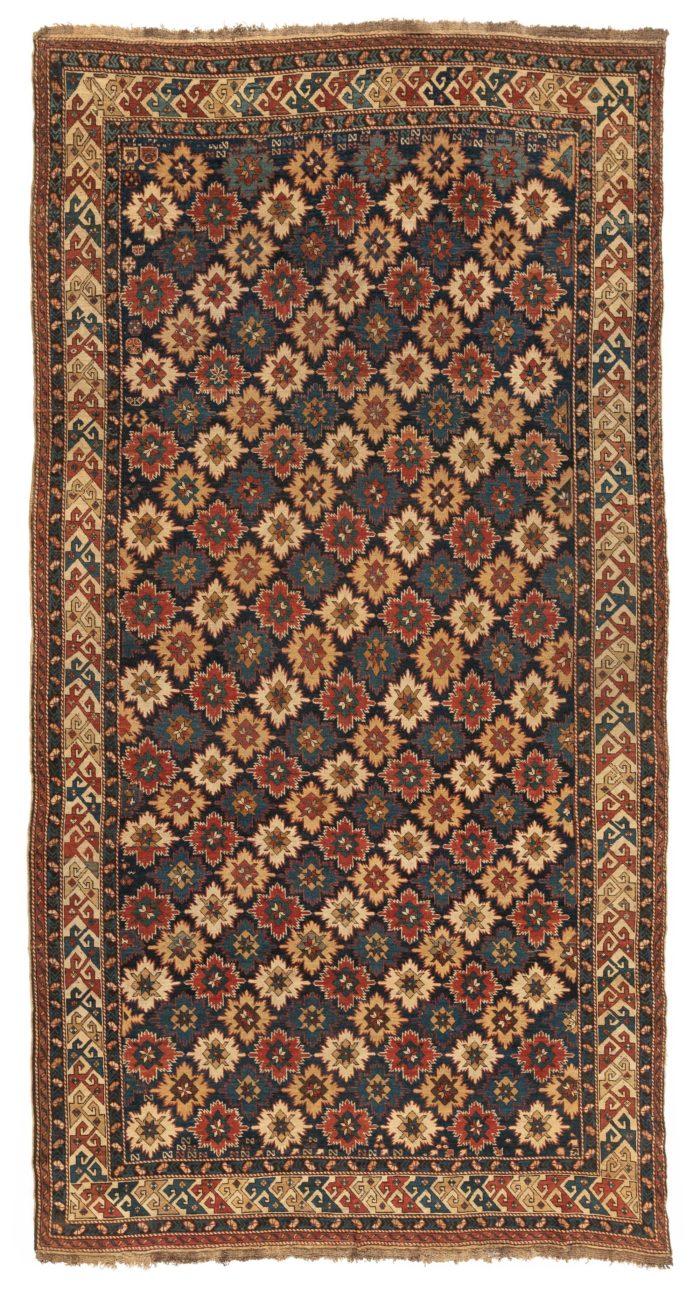 "Antique Persian Kuba Rug 6'0""×11'6"""