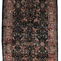 "Antique Persian Kurdish 7'0""×14'0"""