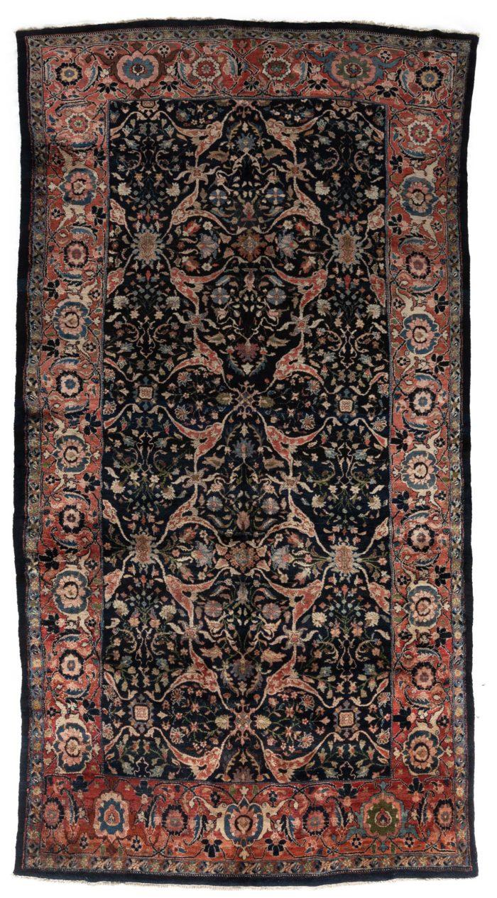 """Antique Persian Kurdish 7'0""""×14'0"""""""