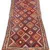 """Antique Persian Kurdish 2'10""""×8'0"""""""