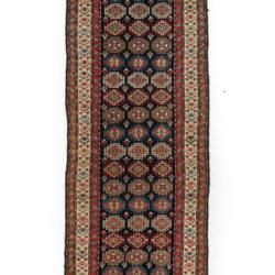 """Antique Persian Kurdish 3'10""""×11'5"""""""