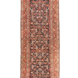 "Antique Persian Kurdish 3'9""×16'9"""