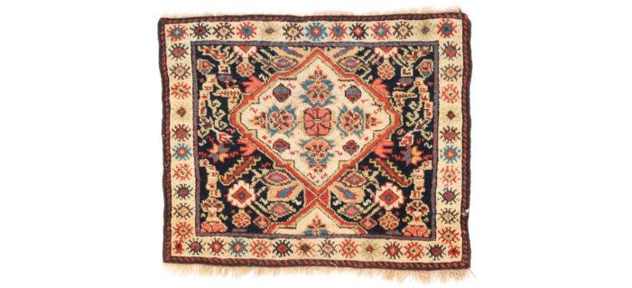 """Antique Persian Kurdish Bagface 1'11""""×2'5"""""""
