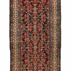 "Antique Persian Kurdish Runner 3'10""×16'7"""