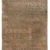 "Antique Persian Lavar Kerman 9'0""×11'7"""
