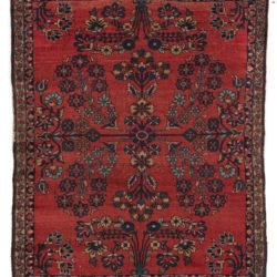 "Antique Persian Lilihan 3'8""×4'7"""
