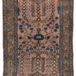 "Antique Persian Lilihan 3'2""×4'11"""