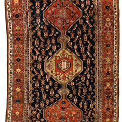 "Antique Persian Luri 5'11""×10'2"""