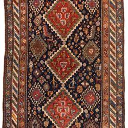 """Antique Persian Luri 5'0""""×7'3"""""""