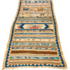 """Antique Persian Luri Kilim 4'2""""×10'10"""""""