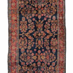 "Antique Persian Mahajeran Sarouk 7'9""×17'8"""