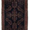 """Antique Persian Mahajeran Sarouk 4'3""""×6'5"""""""