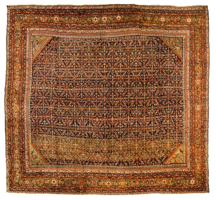 """Antique Persian Mahal 15'6""""×17'0"""""""