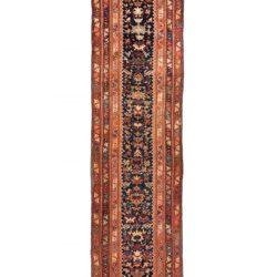 "Antique Persian Malayer 3'6""×15'10"""