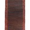 "Antique Persian Malayer Sereband Rug 7'6""×24'2"""