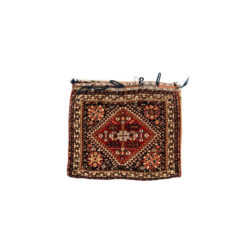 "Antique Persian Qashqai Bag 2'1""×1'10"""