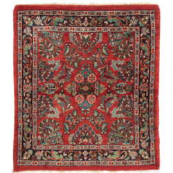 "Antique Persian Sarouk 3'0""×3'4"""