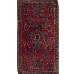 """Antique Persian Sarouk 2'2""""×3'11"""""""