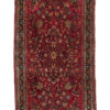 """Antique Persian Sarouk 2'1""""×4'1"""""""