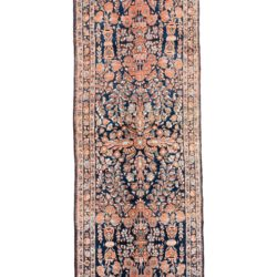 "Antique Persian Sarouk 3'2""×16'6"""