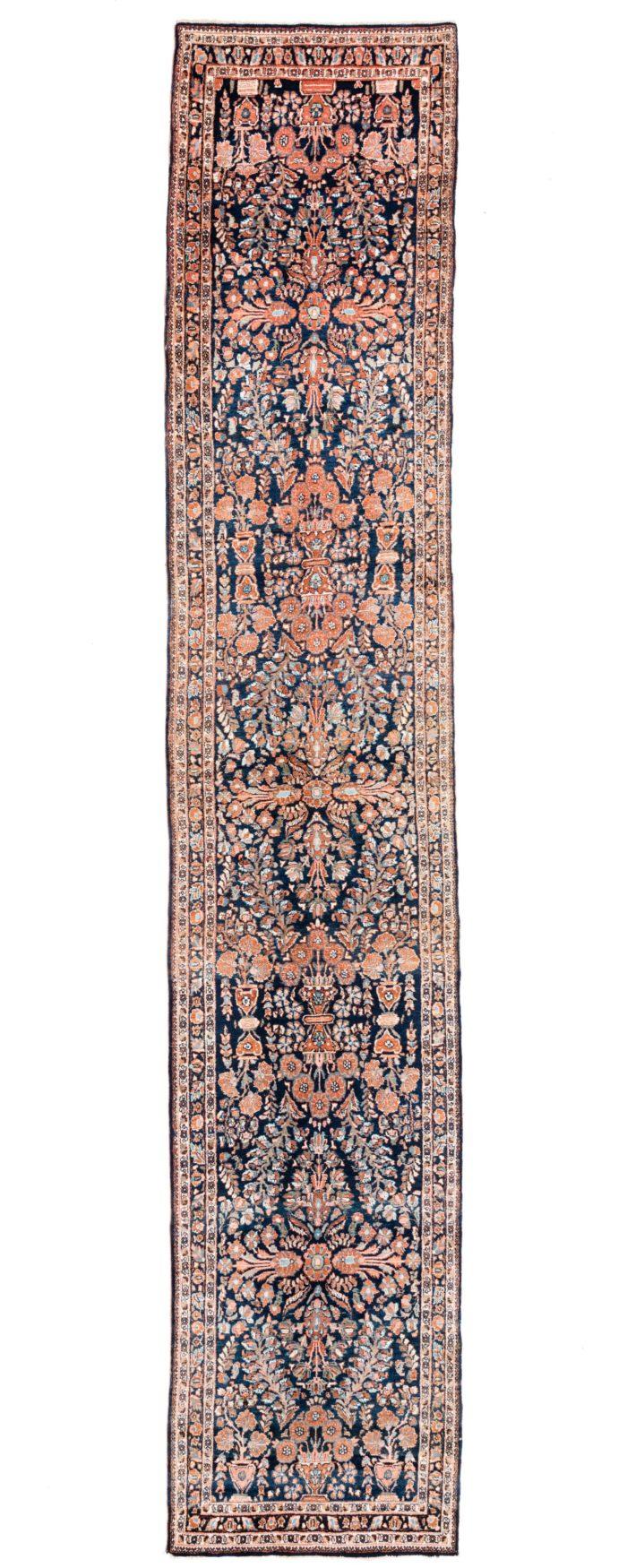 """Antique Persian Sarouk 3'2""""×16'6"""""""