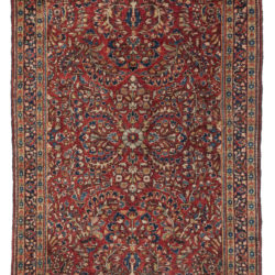 "Antique Persian Sarouk 3'3""×4'8"""