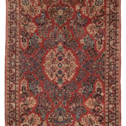 "Antique Persian Sarouk 3'4""×8'11"""