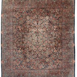 "Antique Persian Sarouk Rug 10'0""×11'10"""
