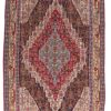 "Antique Persian Senneh Kilim 5'4""×7'7"""