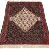 "Antique Persian Senneh Kilim 3'11""×5'11"""
