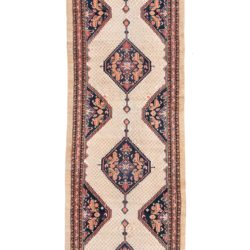 "Antique Persian Serab 3'5""×13'2"""