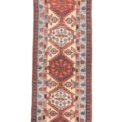 "Antique Persian Serab 3'2""×13'10"""