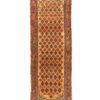 "Antique Persian Serab Runner 3'7""×9'11"""