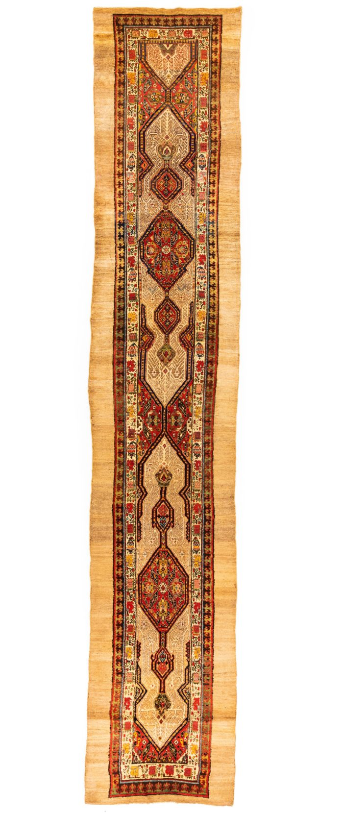 "Antique Persian Serab Runner 2'11""×15'7"""