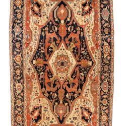 "Antique Persian Serapi 12'1""×18'10"""