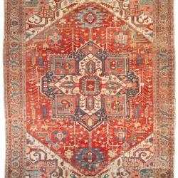 "Antique Persian Serapi Rug 11'3""×14'6"""