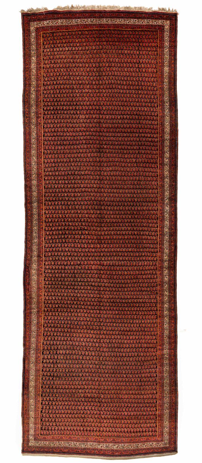 "Antique Persian Sereband 7'4""×20'6"""