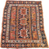 "Antique Persian Shahsavan Bagface 1'9""×3'7"""