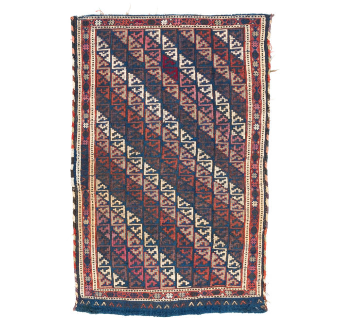 "Antique Persian Shahsavan Bagface 2'0""×3'2"""