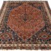 "Antique Persian Shiraz 7'6""×10'1"""