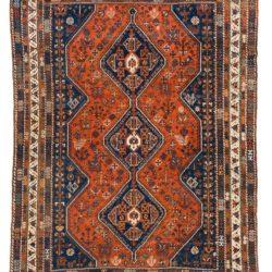 "Antique Persian Shiraz 7'6""×10'0"""