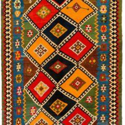 """Antique PersianShiraz Kilim 5'2""""×10'8"""""""